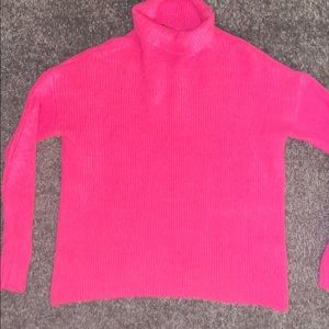 French Connection Sweaters - Women's French Connection Hot Pink Sweater, XS